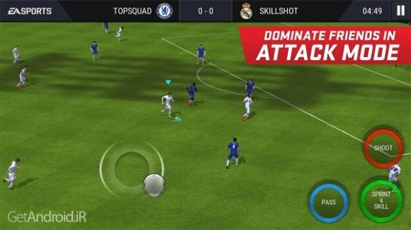 دانلود FIFA Mobile Soccer 3.2.3 بازی فوتبال فیفا 2017 موبایل اندروید
