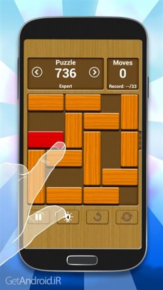 دانلود Unblock Me 1.6.0.3 بازی آزادم کن اندروید