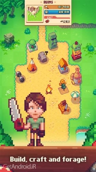 دانلود Tinker Island 1.4.06 بازی بازسازی جزیره اندروید