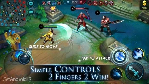 دانلود Mobile Legends: eSports MOBA 1.2.07.1842 بازی اکشن افسانه های موبایل اندروید
