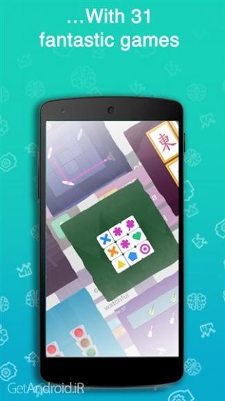 دانلود Fit Brains Trainer Premium 3.0.9 بازی های ذهنی برای کودکان و بزرگسالان اندروید