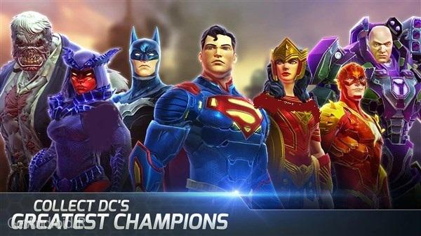 دانلود DC Legends 1.16.1 بازی نقش آفرینی افسانه قهرمانان اندروید