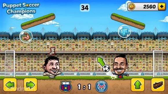 دانلود Puppet Soccer Champions 2014 v1.0.60 بازی قهرمانان فوتبال عروسکی 2014 اندروید