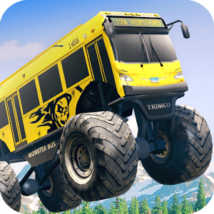 Crazy Monster Bus Stunt Race icon