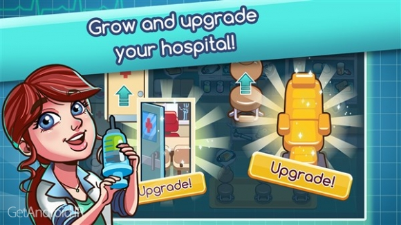 دانلود Hospital Dash 1.0.6 بازی شبیه سازی بیمارستان اندروید