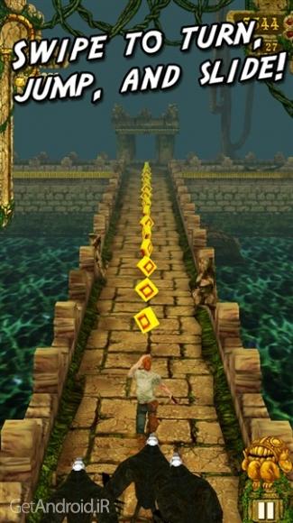 دانلود Temple Run 1.6.4 بازی فرار از معبد 1 اندروید