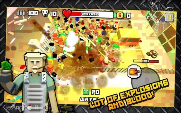 دانلود Zombie Breakout: Blood & Chaos 2.2.1 بازی زامبی های آخرالزمان: خون و آشوب اندروید