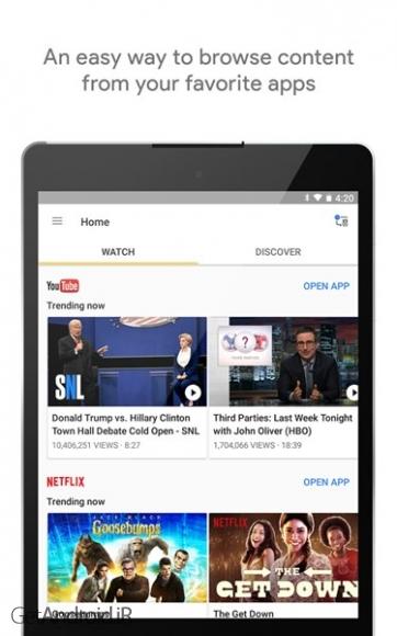 دانلود گوگل هوم Google Home 1.26.30.8 برنامه مدیریت دستگاه کروم کست اندروید