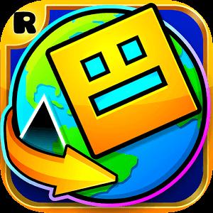 دانلود Geometry Dash World 1.021 بازی دنیای هندسی اندروید