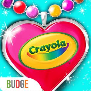 دانلود Crayola Jewelry Party 1.1 بازی دخترانه ترکیب جواهرات اندروید
