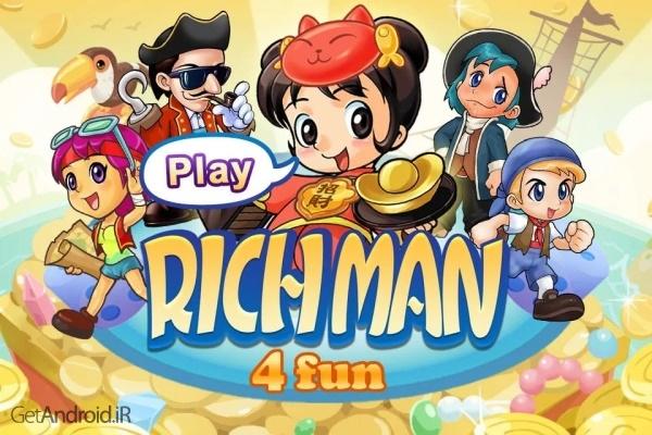 دانلود Richman 4 Fun v4.9 بازی ماجراجویی مرد ثروتمند اندروید