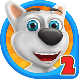 دانلود My Talking Dog 2 - Virtual Pet 3.0 بازی سگ سخنگوی من 2 اندروید