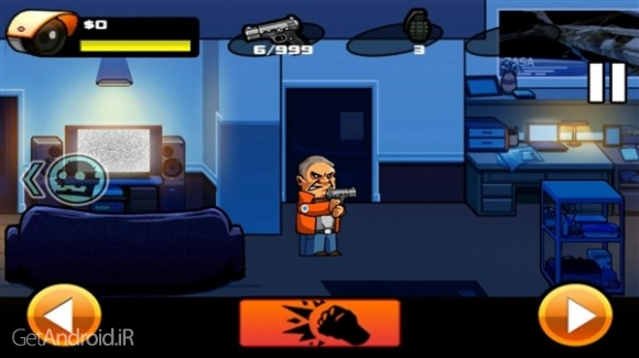 دانلود Zombie VS Fat Man 1.0.1 بازی زامبی ها در مقابل مرد چاق اندروید