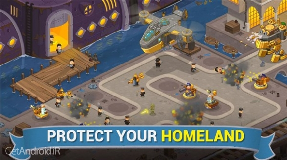 دانلود Steampunk Syndicate 1.32 بازی استراتژیک جدید برای اندروید