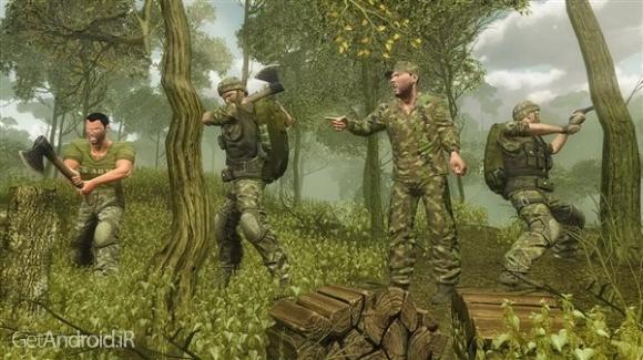 دانلود US Army Survival Training 1.1 بازی آموزش بقای ارتش آمریکا اندروید
