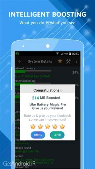 دانلود Battery Magic Pro v1.2.27 بهترین برنامه ذخیره باتری اندروید