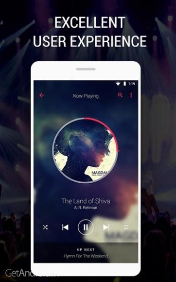 دانلود Music Player - Audio Beats v2.7.2 موزیک پلیر قوی برای اندروید