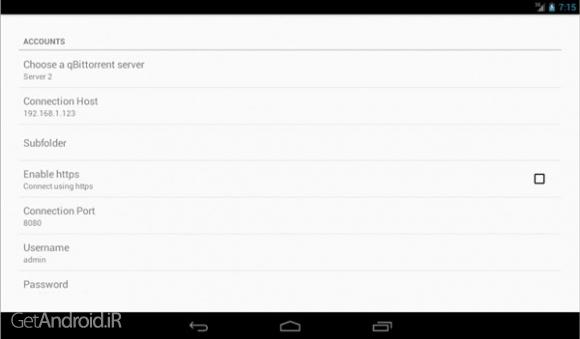 دانلود qBittorrent Controller Pro v4.5.8 برنامه کنترل سرورهای بيت تورنت اندروید