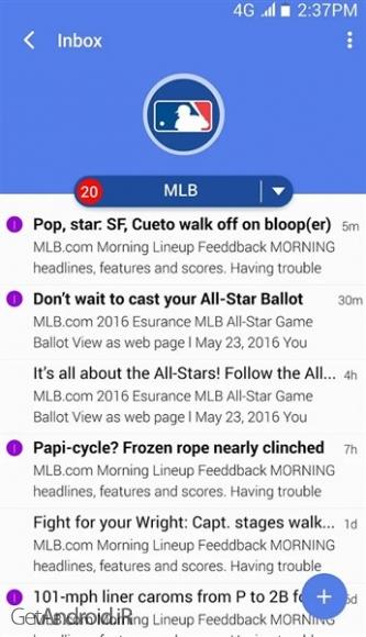 دانلود Email TypeApp - Best Mail App! 1.9.3.6 بهترین برنامه مدیریت ایمیل در اندروید