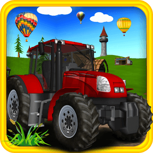 Tractor Off Road 3d icon