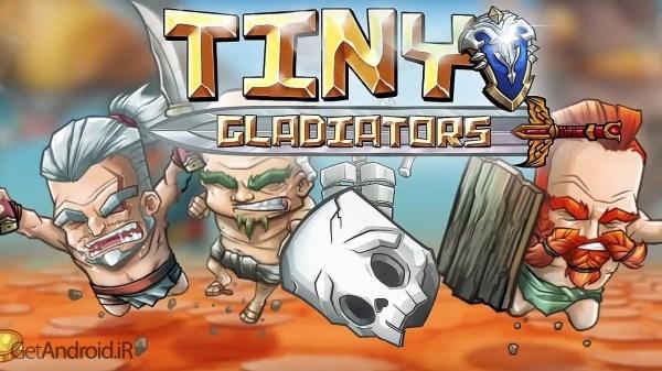 Tiny Gladiators 1.4.0 بازی گلادیاتورهای کوچک برای اندروید