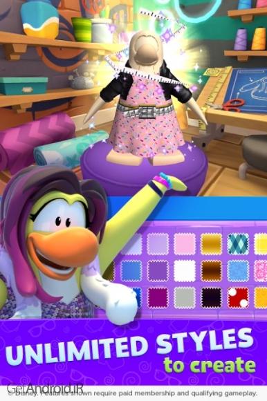 دانلود Club Penguin Island 1.6.1 بازی پنگوئن های جزیره اندروید