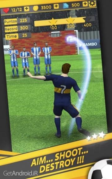 دانلود Shoot Goal - World Cup Soccer 2.1.2 بازی جام جهانی فوتبال اندروید