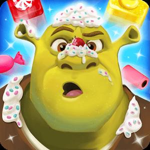 دانلود Shrek Sugar Fever 1.3.0 بازی پازلی شرک اندروید