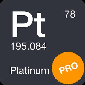 دانلود Periodic Table 2017 Pro 0.1.23 برنامه یادگیری جدول تناوبی اندروید
