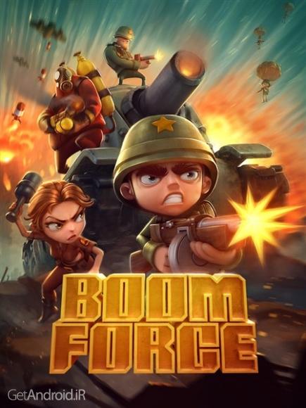 دانلود Boom Force: War Game for Free 1.15.3 بازی اکشن غرش نیرو اندروید