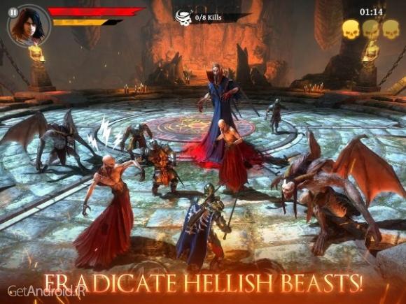 دانلود Iron Blade – Medieval Legends 1.4.2a بازی شمشیر آهنی اندروید