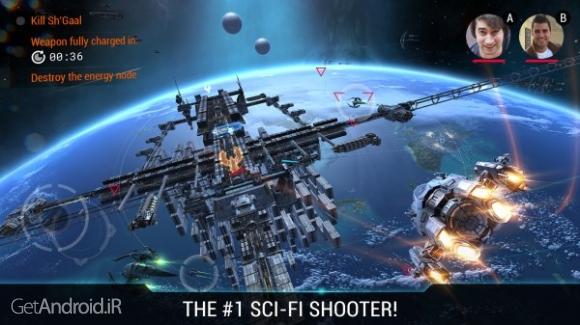 دانلود Galaxy on Fire 3 – Manticore 1.6.7 بازی کهکشان در آتش 3 اندروید