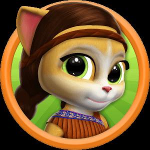دانلود Emma The Cat - Virtual Pet 1.6 بازی گربه اما اندروید