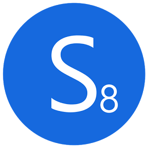 S S8 Launcher Galaxy S8,Theme icon