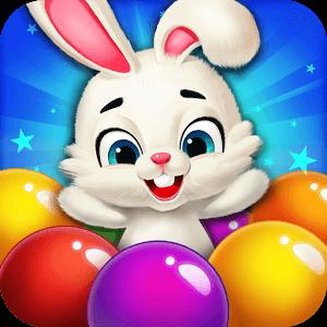 دانلود Rabbit Pop- Bubble Mania 2.0.10 بازی پرتاب حبابها اندروید