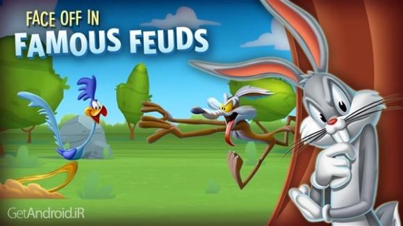 دانلود Looney Tunes 2.2.0 بازی آرکید لونی تیونز اندروید