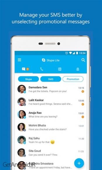 دانلود اسکایپ لایت Skype Lite v1.53.0.31129-release برنامه تماس تصویری سریع اندروید