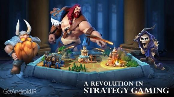 دانلود Art of Conquest (AoC) 1.15.14 بازی آنلاین استراتژیک هنر فتح برای اندروید