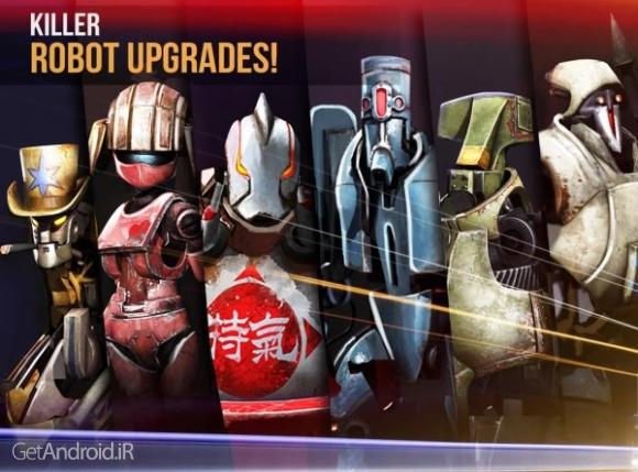 دانلود Clash Of Robots 2.8 بازی نبرد ربات ها اندروید