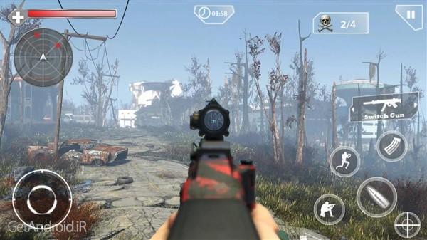 دانلود Counter Terrorist Sniper Shoot v1.3 بازی کانتر تروریست اندروید