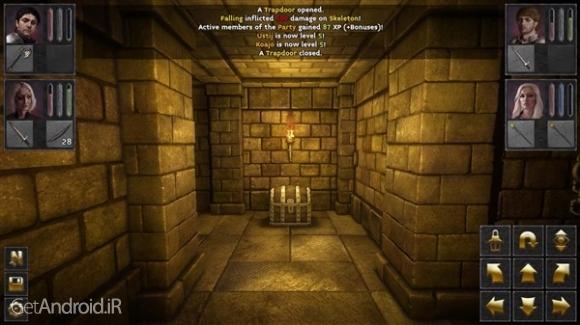 دانلود The Deep Paths v8 بازی نقش آفرینی راه عمیق اندروید