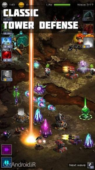دانلود Ancient Planet Tower Defense 1.1.12 بازی برج دفاعی سیاره باستانی اندروید