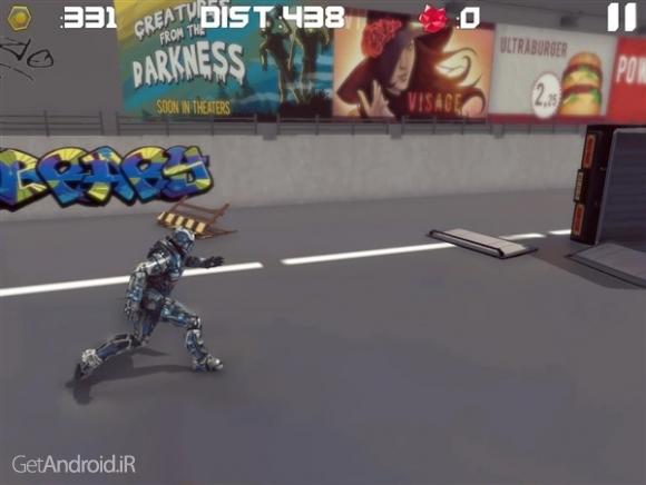 دانلود Iron Avenger 2 : No Limits 1.53 بازی انتقام جوی آهنی 2 اندروید