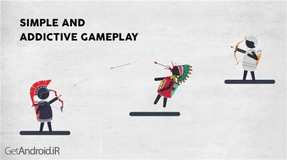 دانلود Arqy.io: Archers Game 1.6.2 بازی کمانداران اندروید