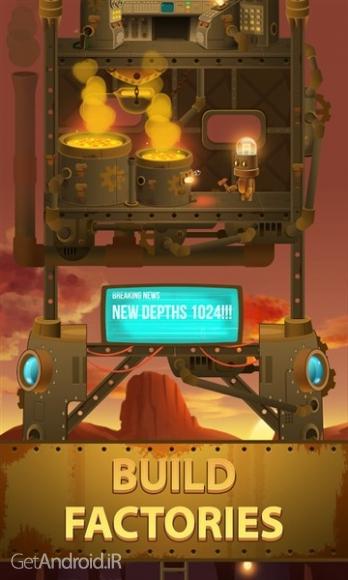 دانلود Deep Town: Mining Factory 3.0.0 بازی استراتژیک کارخانه معدن اندروید