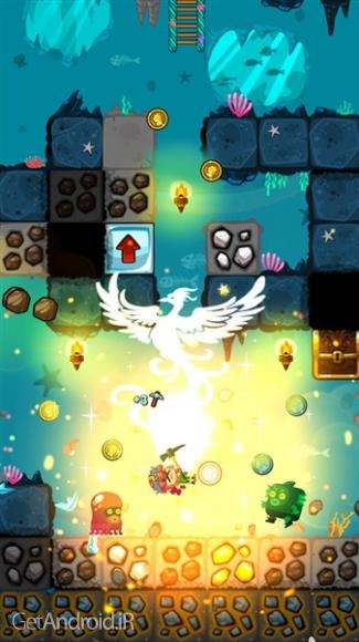 دانلود Pocket Mine 3 v3.9.1 بازی معدنچی طلا 3 اندروید