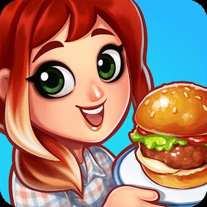 دانلود Food Street - Restaurant Game 0.28.2 بازی شبیه سازی خیابان غذا اندروید