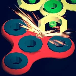 دانلود Fidget Spinner Battle 2.5.5 بازی اسپینر مود شده اندروید