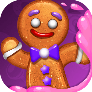 Gingy Story Deluxe: match 3 icon
