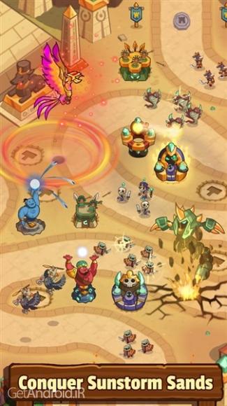 دانلود Realm Defense: Hero Legends TD 1.9.7.1 بازی دفاع از قلمرو: افسانه قهرمانان اندروید